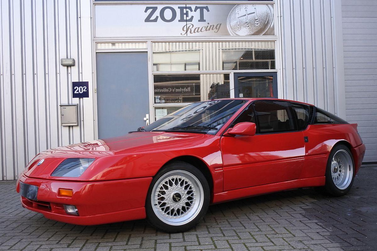 Renault Alpine V6 LeMans - Full Options